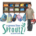 Click here for more Sproutz Wall Mounted Coat Locker by Jonti-Craft by Worthington