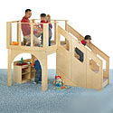 Click here for more Tots Play Loft by Jonti-Craft by Worthington