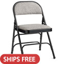 Click here for more Fabric Padded Commercial Grade Steel Folding Chairs by Samsonite by Worthington