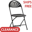 Click here for more 2000 Series Injection Mold Fanback Folding Chairs by Samsonite by Worthington