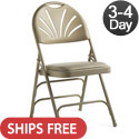 Click here for more Vinyl Padded Fanback Steel Folding Chairs by Samsonite by Worthington