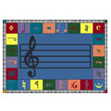 Click here for more Music Rugs by Worthington