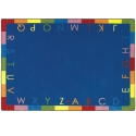 Click here for more Rainbow Alphabet Carpet by Joy Carpets by Worthington