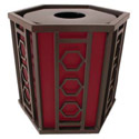 Huntington Outdoor Trash Receptacle by UltraPlay