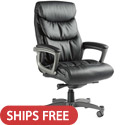Click here for more Lisbon Leather Office Chair with Memory Foam by Samsonite by Worthington