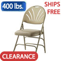 Click here for more XL Series Fanback Steel Padded Seat Folding Chairs by Samsonite by Worthington