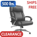 Click here for more San Mateo Big & Tall Leather Office Chair by Samsonite by Worthington