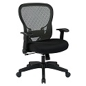 Click here for more Deluxe R2 SpaceGrid Back Chair w/ 4-Way Arms by Office Star by Worthington
