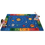 Click here for more Milky Play Literacy Rug by Carpets for Kids by Worthington