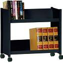Click here for more Book Truck with 2 Slant Shelves by Sandusky Lee by Worthington
