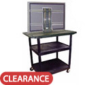 Click here for more Flat Panel TV Cart by Luxor by Worthington