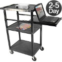 Click here for more 3 Shelf Presentation Workstation By Luxor by Worthington