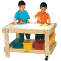 Click here for more Creative Caddie Light Table by Jonti-Craft by Worthington