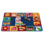 Toddler Blocks KIDSoft Rugs by Carpets for Kids
