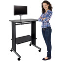 Click here for more Stand Up Workstation with Flat Screen Mount by Sandusky Buddy by Worthington