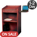 Click here for more Aristocrat Floor Lectern Model 600 by Oklahoma Sound by Worthington