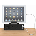 Click here for more Clamp Mount Outlet & USB Charger by Balt by Worthington