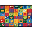 Click here for more Sequential Seating Literacy Rug by Carpets for Kids by Worthington