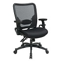 Click here for more Professional Dual Function Dark AirGrid Back Chair by Office Star by Worthington