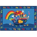 Noah's Alphabet Animals ValuePlus Rug by Carpets for Kids