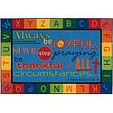 Click here for more Always Be Joyful Circletime ValuePlus Rug by Carpets for Kids by Worthington