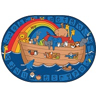 Click here for more Alphabet Noah by Carpets for Kids by Worthington