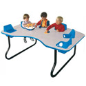 Four, Six and Eight Seat Toddler Tables
