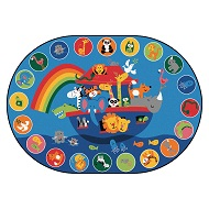 Click here for more Noah's Voyage Circletime Rug by Carpets for Kids by Worthington