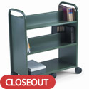 Click here for more Gorilla Booktruck with 4 Sloping Shelves & 1 Flat Base Shelf by Worthington