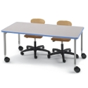 Click here for more Non-Folding Planner Seminar Table by Smith System by Worthington