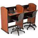 Library Study Carrels by Smith System