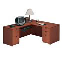 Executive L Desk by NDI Office Furniture
