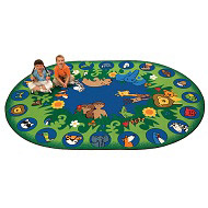 Click here for more Circletime Garden of Eden Rug by Carpets for Kids by Worthington