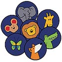 God's Animals ValuePlus Circles by Carpets for Kids