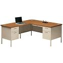 Metro Classic Series L Shaped Desk by Hon