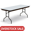 Click here for more Overstock Sale- EF Plywood Core Folding Tables by Midwest by Worthington