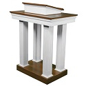Click here for more 8400 Series Open-Tiered Pulpit by Trinity by Worthington