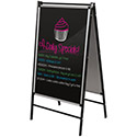 Click here for more Black Restaurant Display Easel by Best-Rite by Worthington
