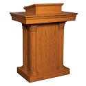 8500 Series Close-Tiered Pulpit by Trinity