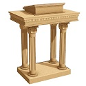 Click here for more 8500 Series Open-Tiered Pulpit by Trinity by Worthington