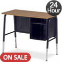 Virco 765 Jr Executive Desk : 24 Hour Quick Ship