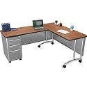 Click here for more L-Shaped Desk Set By Balt by Worthington