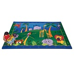 Alphabet Jungle Carpet by Carpets for Kids