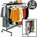 Combination Coat Rack or Folding Chair & Folding Table Truck by NPS