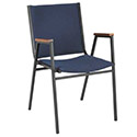 400 Series Stack Chair with Arms by KFI