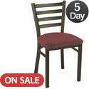 Click here for more IM3300 Series Ladder Back Cafe Chair by KFI by Worthington