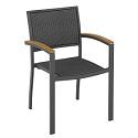 Click here for more PE Weave Stack Chair by KFI Seating by Worthington