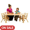 Click here for more NaturalWood Tables by Angeles by Worthington