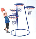 Click here for more 4-Ring Basketball Stand with Storage Bag by Angeles by Worthington