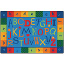 Alphabet Around Literacy KIDSoft Rugs by Carpets for Kids